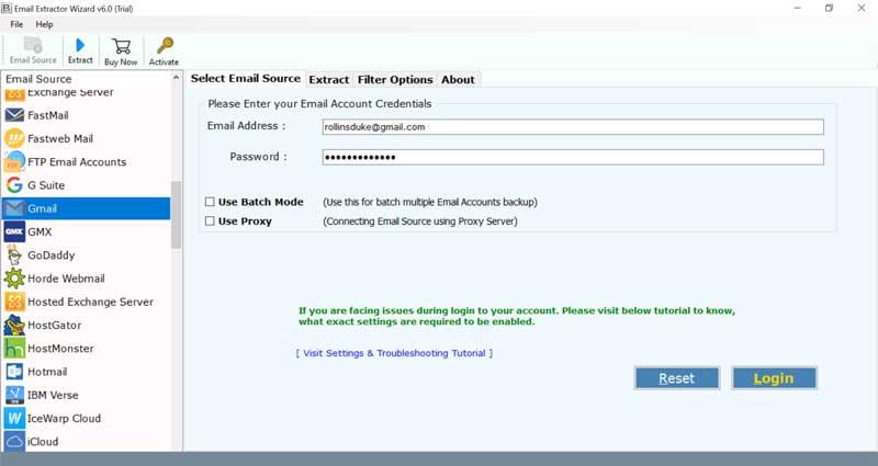 Webmail Credentials