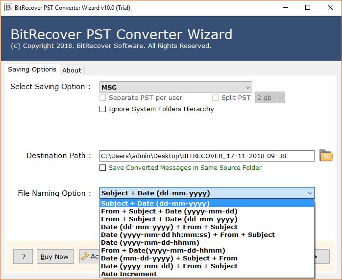 file naming conversion