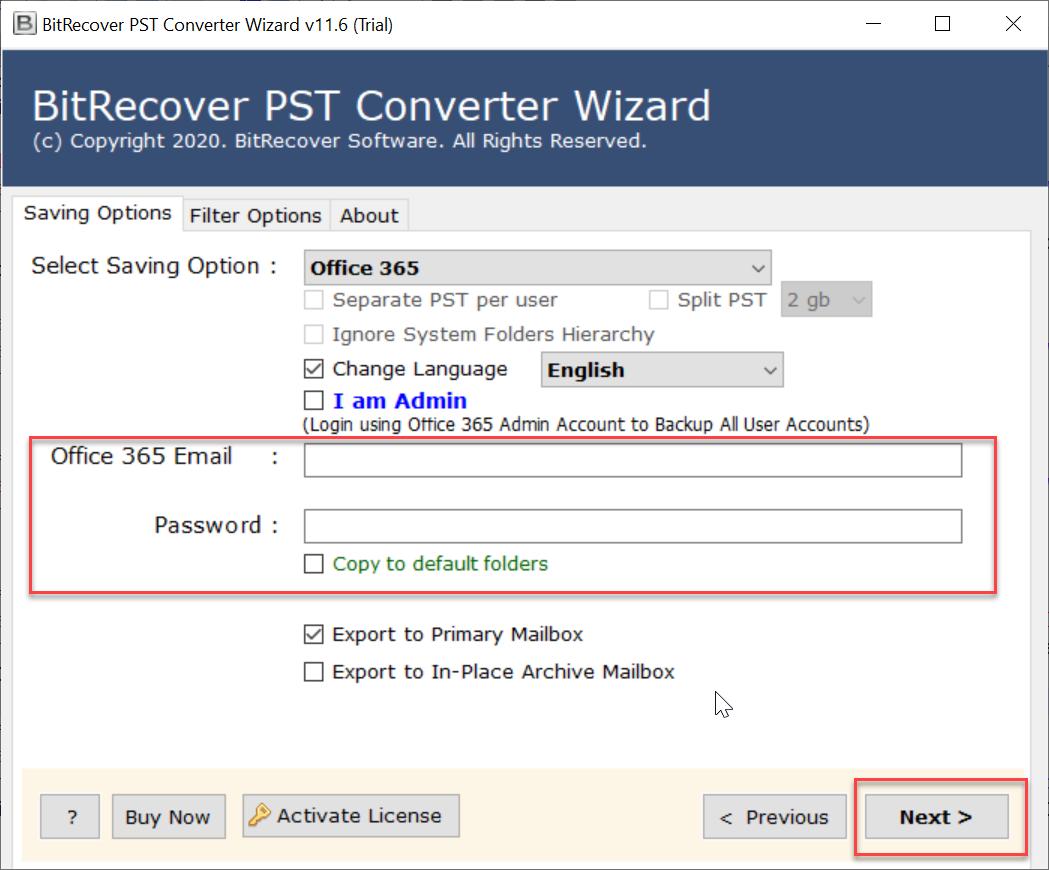 open PST in Microsoft 365