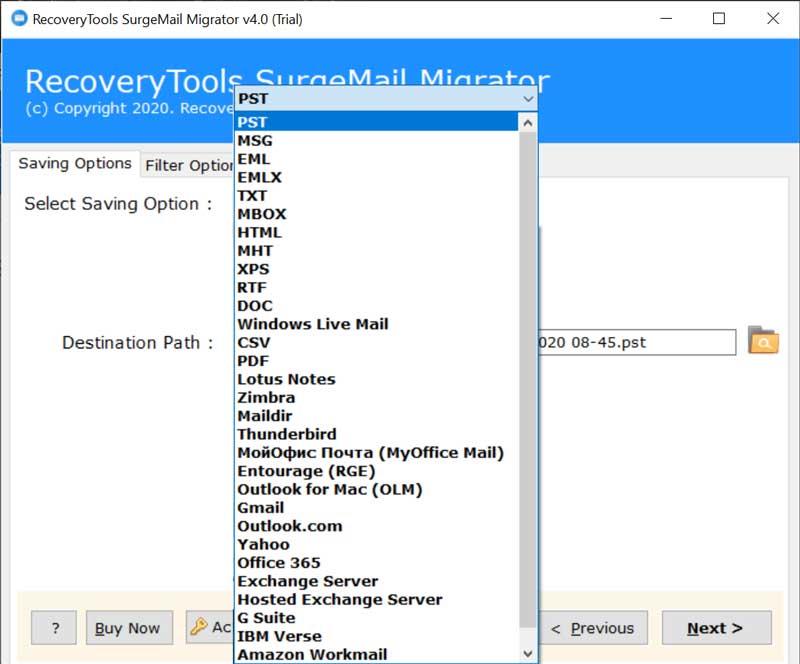 Download SurgeMail Server Emails