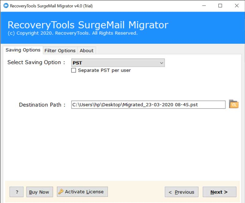 SurgeMail Conversion