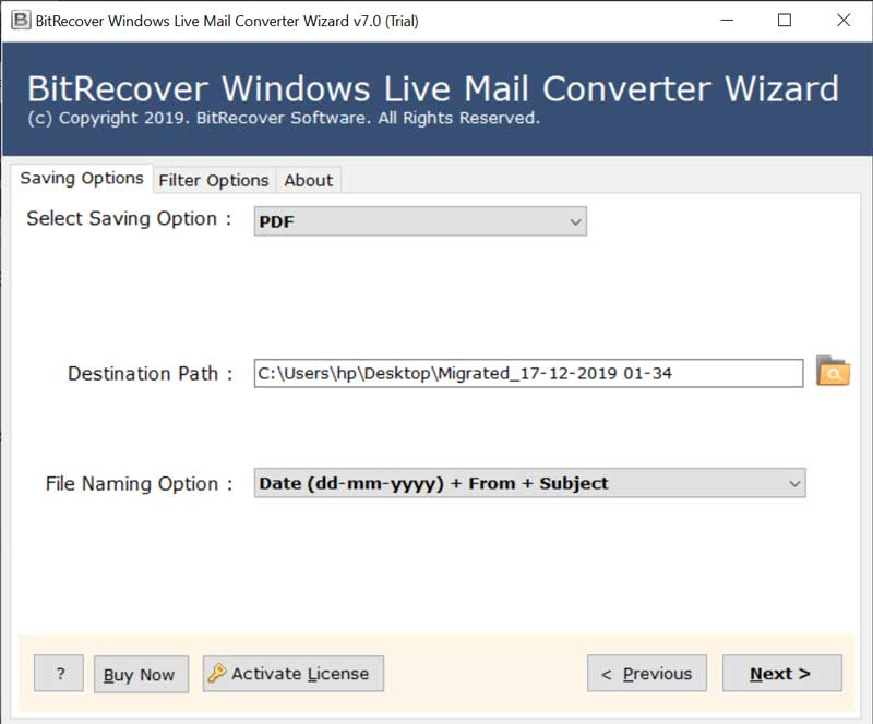 Migrate Emails from Windows Mail