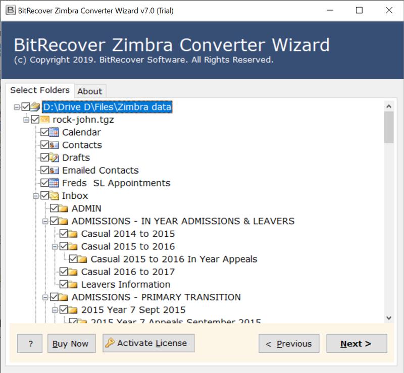 Zimbra Converter Tool to Migrate & Export Zimbra TGZ Files