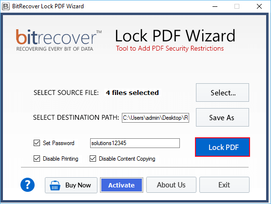bitrecover activation key