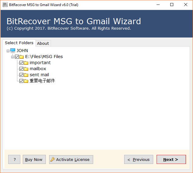 how to open msg files in gmail