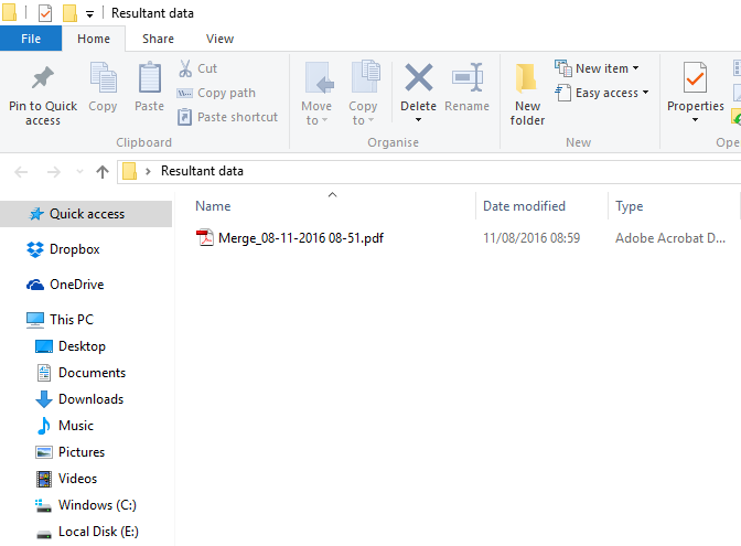 How To Merge PDF Files Into One With Adobe Reader ...