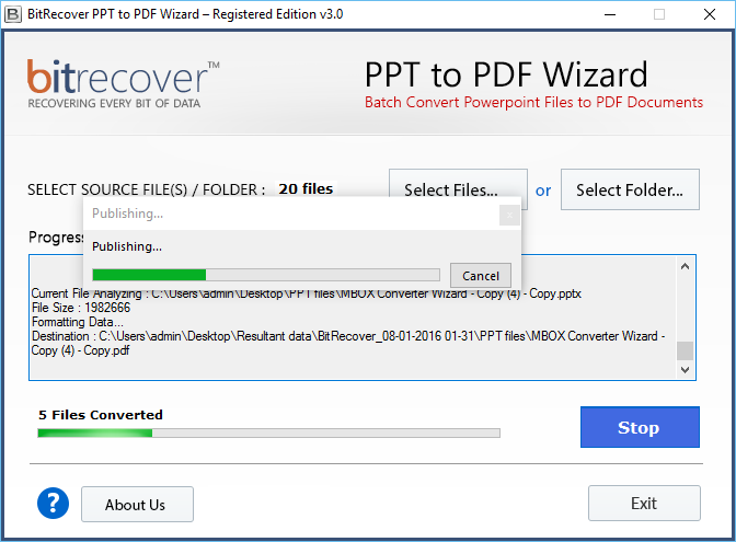 pdf to ppt free windows
