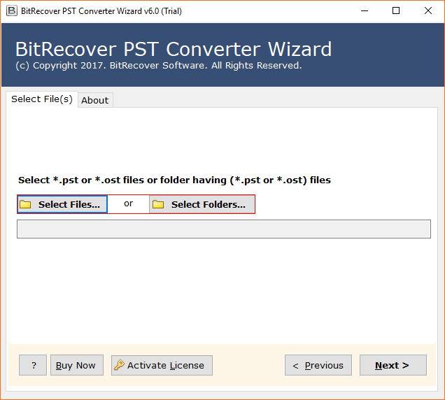 BitRecover PST to Zimbra Wizard