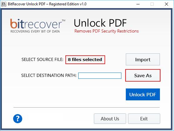 Selected PDF files