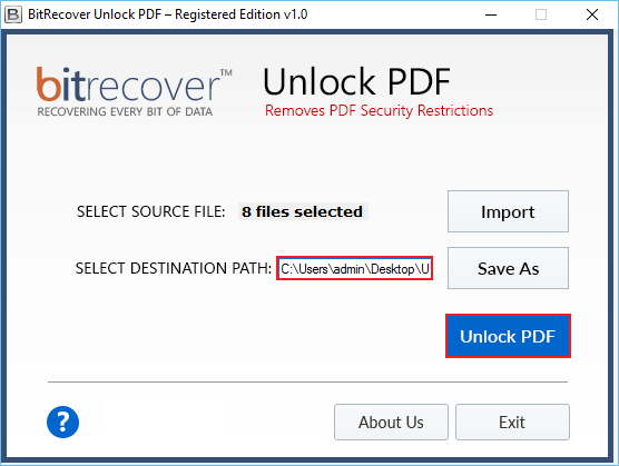 how to decrypt pdf files protected with user passwords