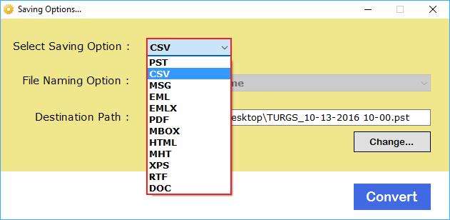 vCard Converter to Import VCF to CSV, PDF, HTML, MBOX, EML