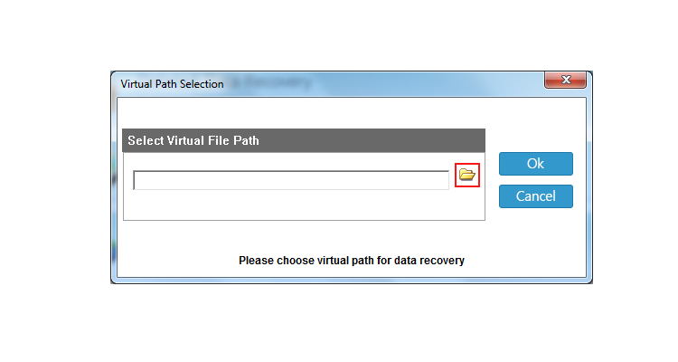 Recover deleted files from VDI