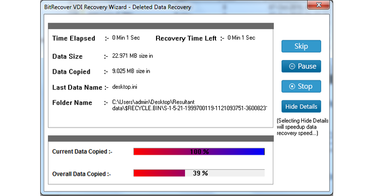 Recovering files from VirtualBox VDI