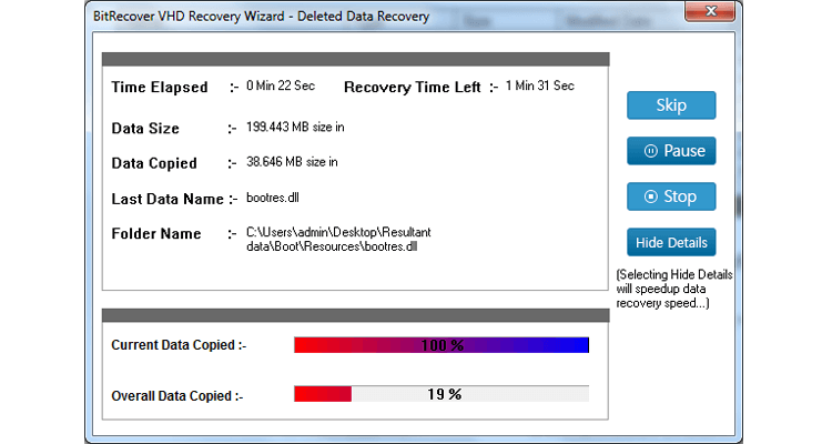 VHD Recovery Software for Corrupt VHD, VHDX, AVHD Files to