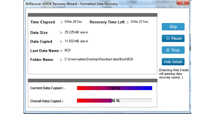 Recover Data from Corrupt VMDK File